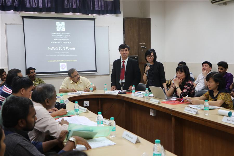 Report on the Roundtable Discussion at Zakir Husain Delhi College, University of Delhi (Part 2)