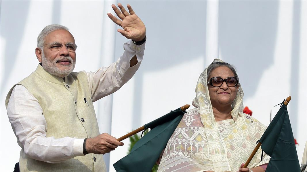 India's Modi Signs Historic Border Settlement With Bangladesh