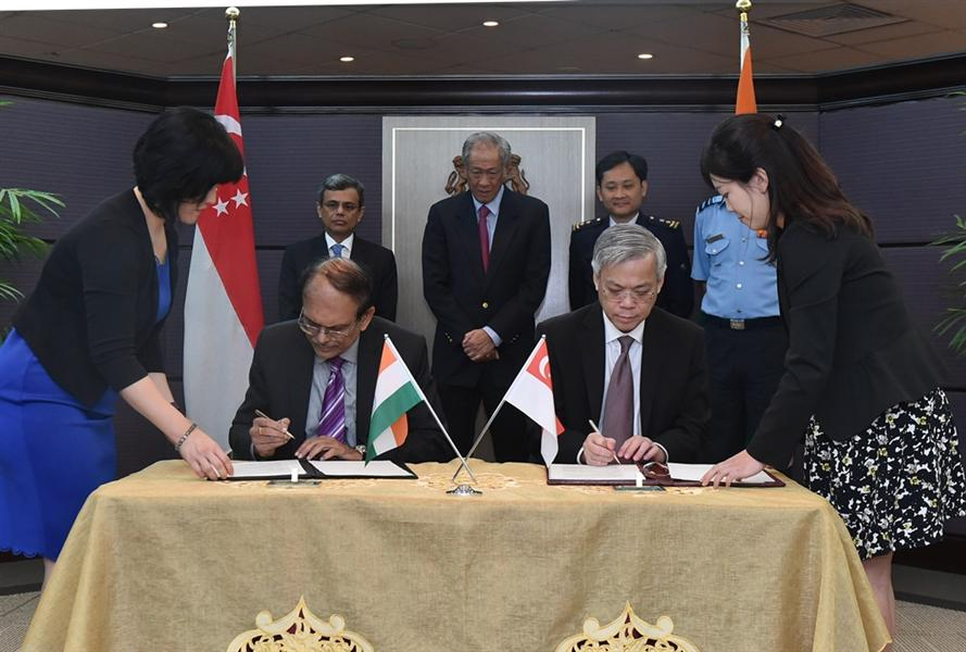 India, Singapore renew bilateral air force training agreement