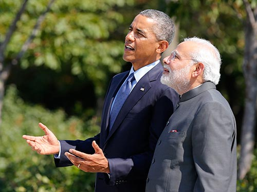 Modi wants deeper U.S.-India security relationship