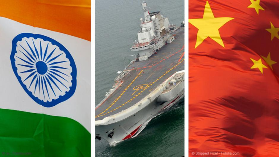India belatedly boosts naval competition with China