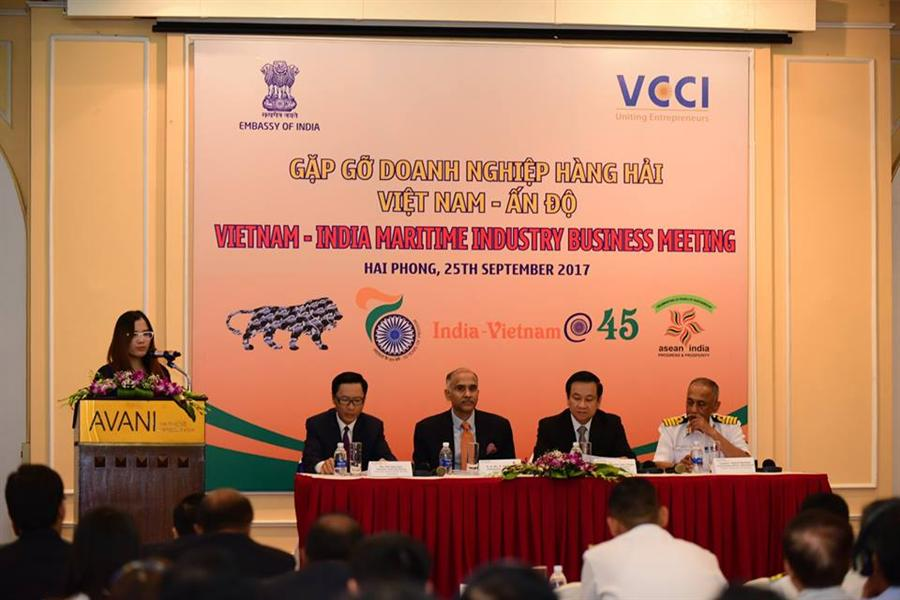 Việt Nam, India to co-operate on maritime matters