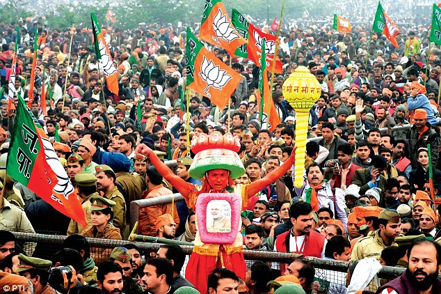 Modi's BJP Party Wins Heart of India Voters