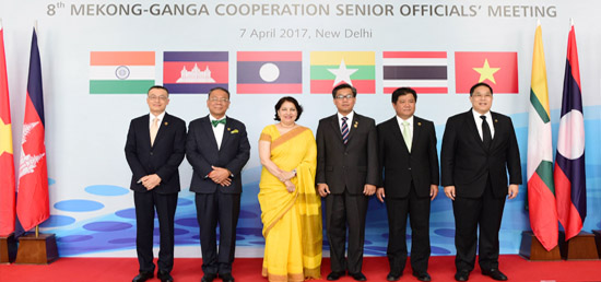 8th Mekong-Ganga Cooperation SOM held in India