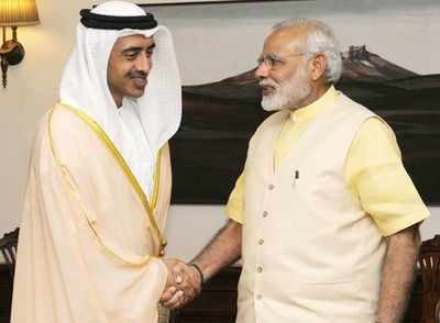 UAE foreign minister to assess areas of engagement with India