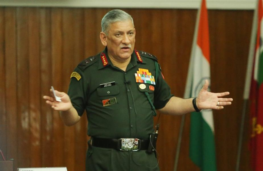 Engagement with pacific powers is for freedom of navigation: Army chief