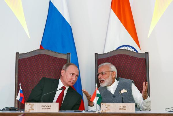 Inking of defence deals with India a sign of strategic partnership: Russia