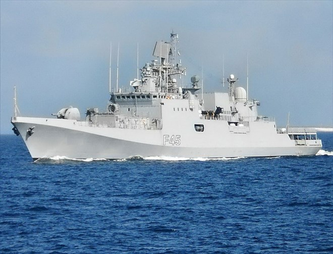 Frontline Indian warship INS Trikand anchors at Israeli port