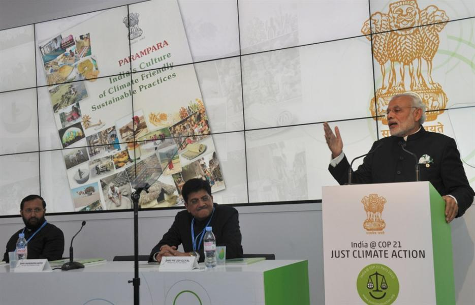 India unveils global solar alliance of 121 countries at Paris climate summit
