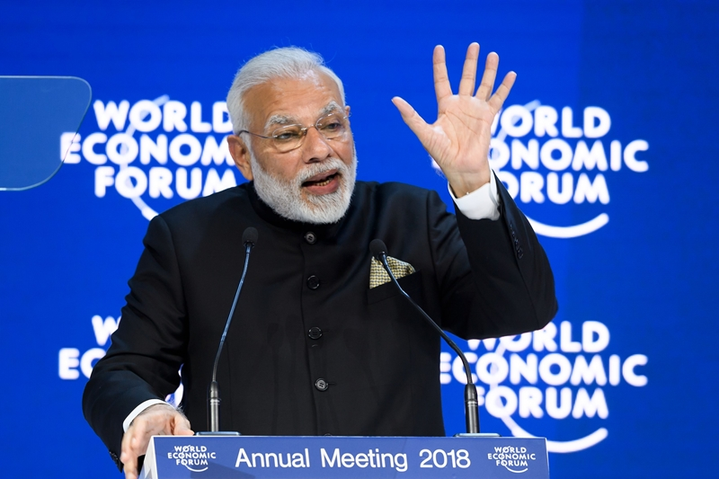 India an open economy, PM Narendra Modi to tell World Economic Forum