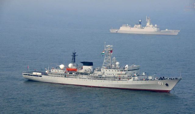 Chinese, Indian navies foil piracy bid in rare joint operation