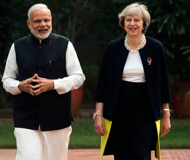 India is Britain's 'most important and closest' friend: Theresa May