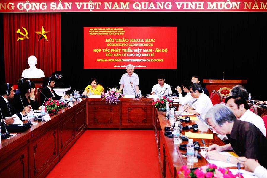 "Introductory Report Scientific Conference ""Vietnam – India Development Cooperation on Economics"""