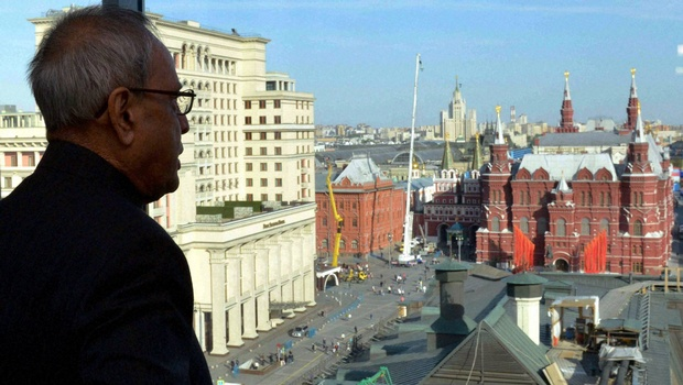 Russia a 'Pillar of Strength' for India: Mukherjee
