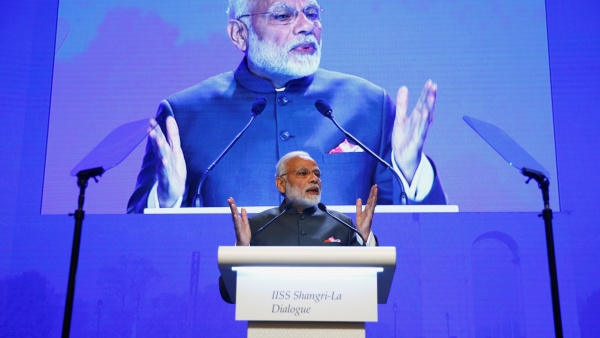 Narendra Modi at Shangri-La Dialogue: India aligning with US to balance security concerns emanating from China
