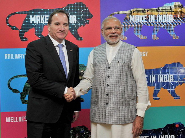 Sweden, India partners in many fields: Swedish PM