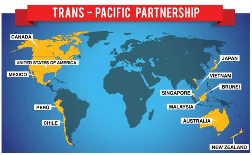 Trans Pacific Partnership (TPP): Responses from China and options for India