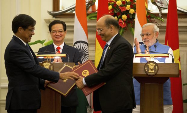 Five Pillars of Indian and Vietnam relations