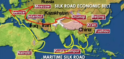 India can choose to take part in any Silk Road project: China