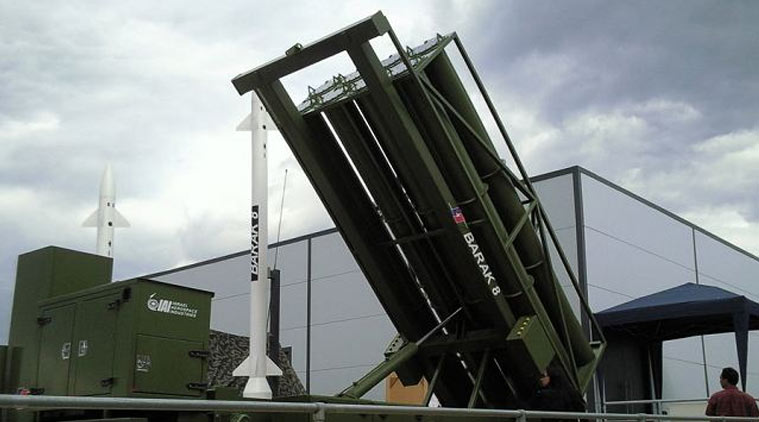 Govt clears plan to buy Barak missiles from Israel