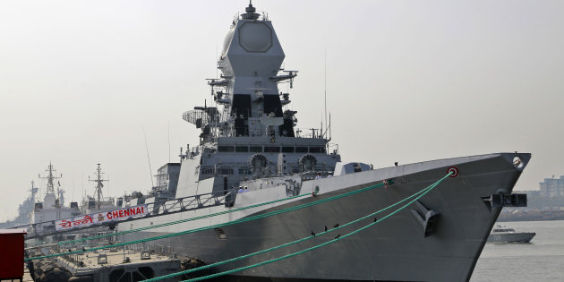 Largest-ever 'Made-in-India' warship INS Chennai commissioned