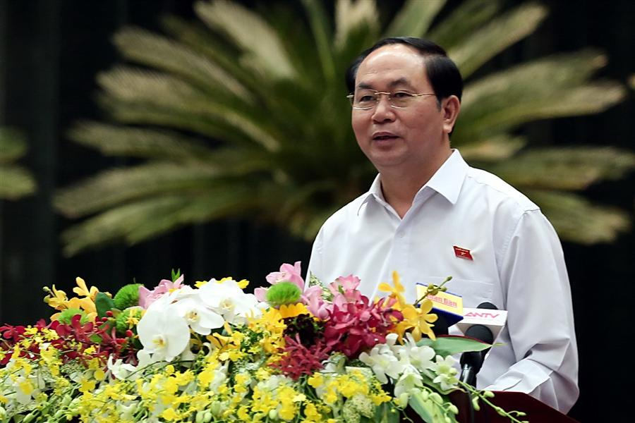 Vietnam president pitches for expanding Indo-Vietnam maritime ties