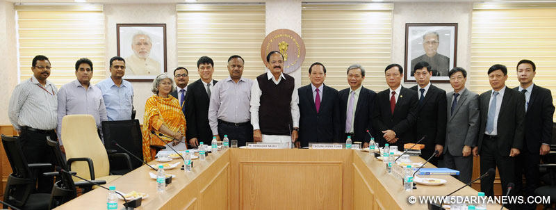 Naidu calls for India-Vietnam collaboration in broadcasting