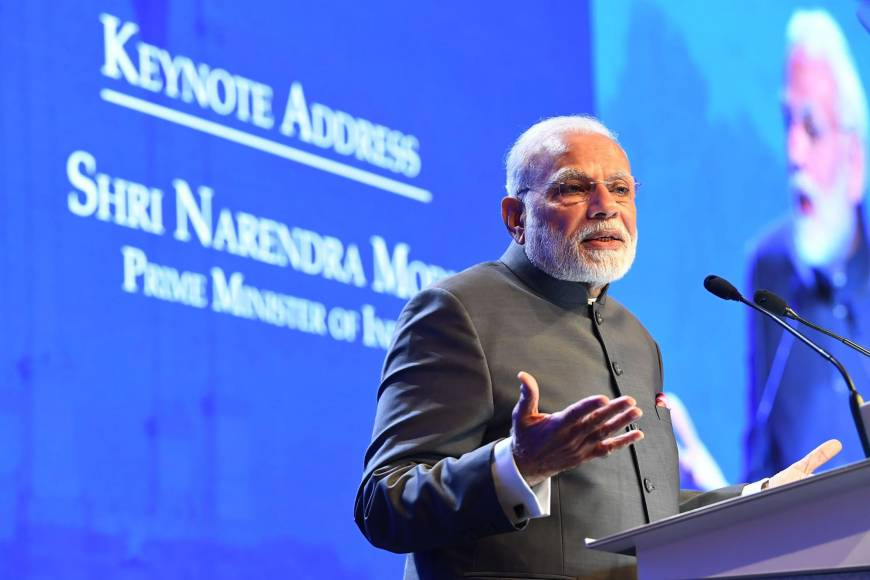 Modi's vision for the Indo-Pacific region