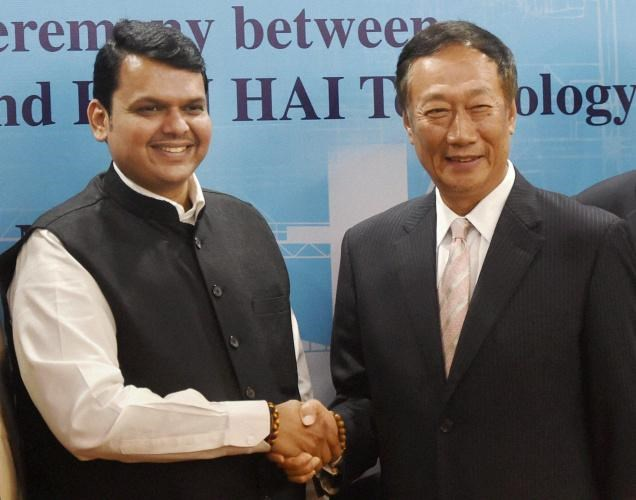 Foxconn to Invest 5 Billion Dollars in Maharashtra Projects