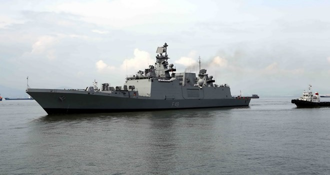 Indian warship INS Sahyadri to visit Vietnam's Da Nang early October