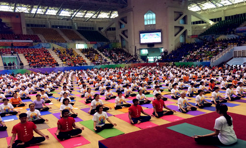 First international yoga day to be celebrated in Hanoi