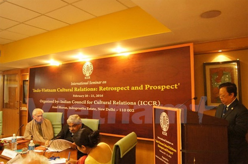 "Overview of two days' Seminar on ""India-Vietnam relations: Retrospect &  Prospect"" Organized by ICCR at New Delhi on 20-21st February 2016"