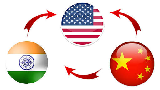 "Will China-India-US Triangle ""Lose one of its peaks"""