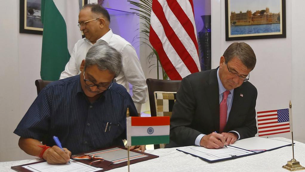 India, US Sign New 10-Year Defence Framework Pact