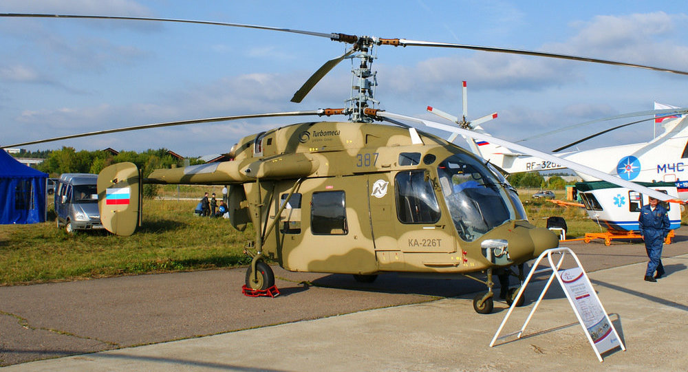 Russia, India Begin Work on 200 Ka-226T Helicopter Production Agreement