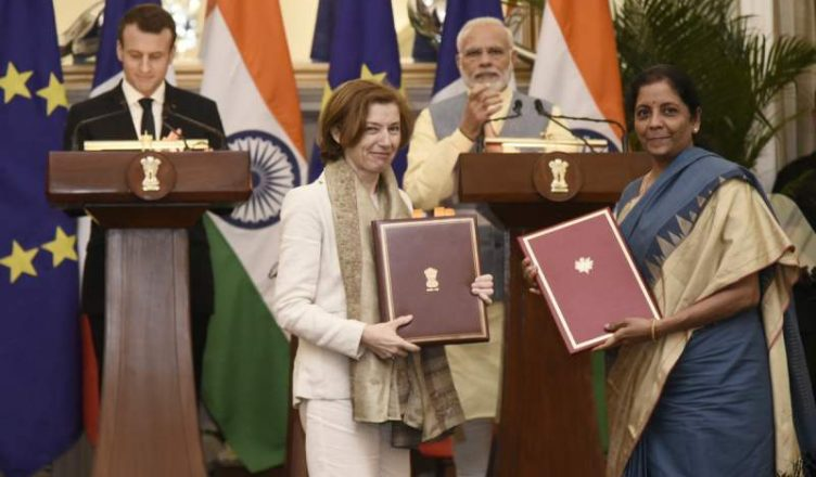 India, France sign two agreements to boost cooperation in Railway