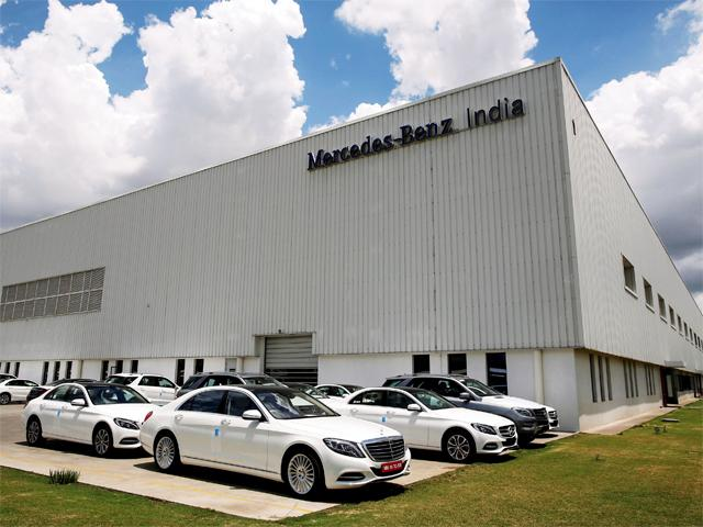 Mercedes-Benz India records highest ever sales in 2015 with 13,502 units
