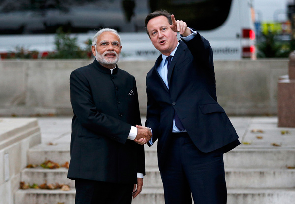 PM Modi-Cameron joint statement: India, UK join hands on terror, defence, cyber security