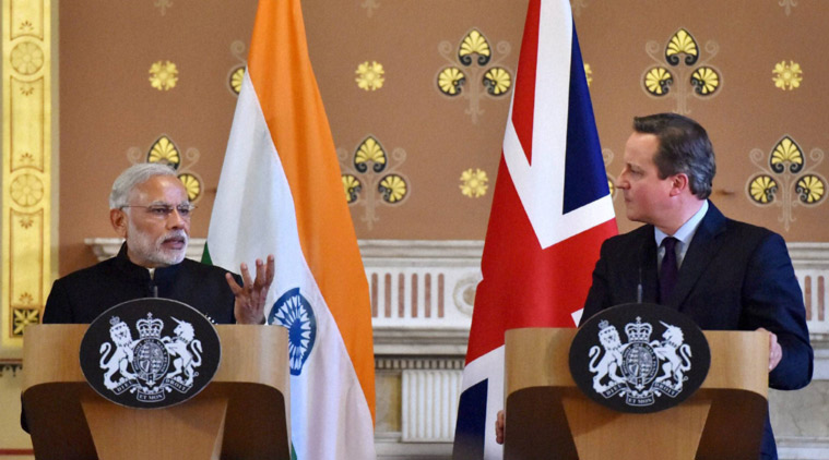 PM Modi addresses Business Meeting at London