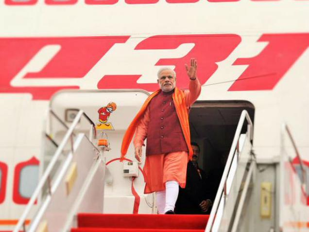 Modi arrives in China's Xian as part of tri-nation tour