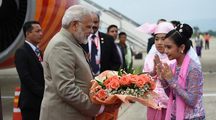 PM Narendra Modi reaches Myanmar: Five reasons why his visit is important