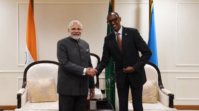PM Modi Becomes First Indian Prime Minister To Visit Rwanda
