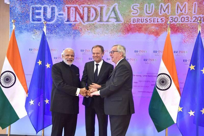 EU - India promote Strategic partnership relations