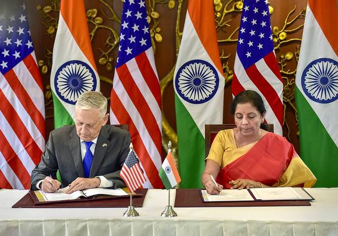2+2 talks: India's interests secured in new pact: officials
