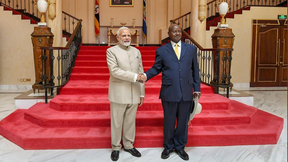 India emerging as global manufacturing hub: PM Narendra Modi addressing Indians in Uganda
