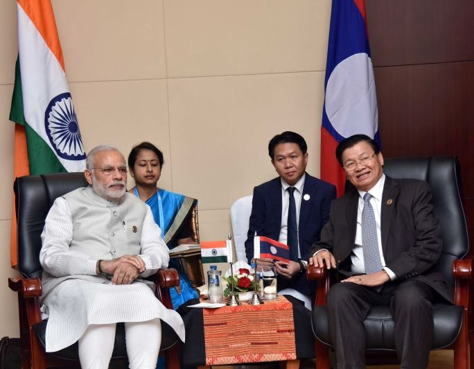 PM Modi, Thongloun Sisoulith hold bilateral talks, discuss South China Sea issue
