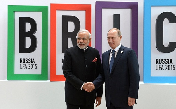 The ongoing BRICS summit highlights the close nature of the Russian-Indian cooperation.