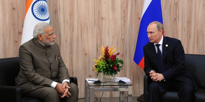 India, Russia to review bilateral ties ahead of Putin's visit