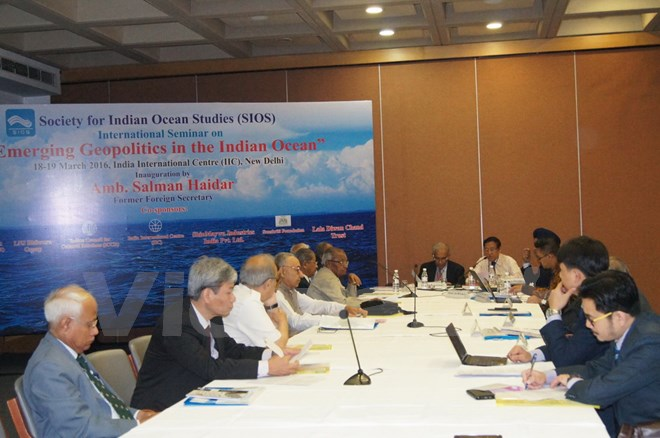 "The Seminar ""Emerging Geopolitics in the Indian Ocean"" Organized by Society for Indian Ocean Studies (Sios) Highlights East Sea Issue"