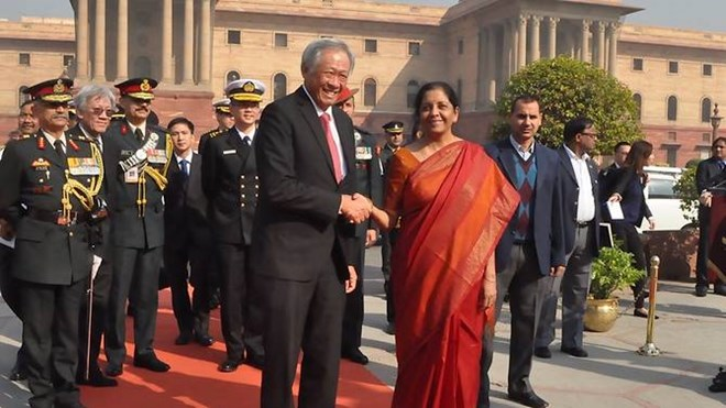 Singapore and India to boost cooperation in maritime security